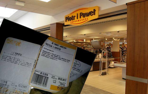"""Piotr i Paweł """"przebija"""" terminy ważności produktów? Klient pokazał zdjęcie na dowód"""