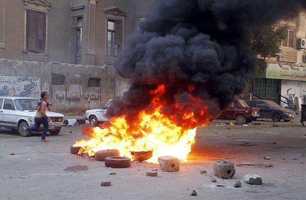 14 śmiertelnych ofiar wybuchu na posterunku egipskiej policji