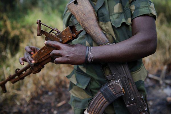 Atak na wieś w Demokratycznej Republice Konga