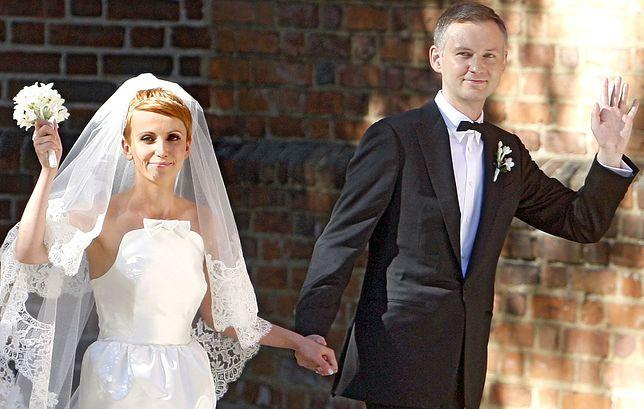 Katarzyna Zielińska i Wojciech Domański wzięli ślub osiem lat temu