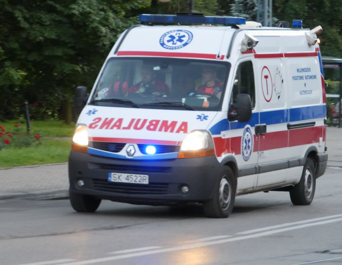 Karambol pod Wrocławiem. Są ranni