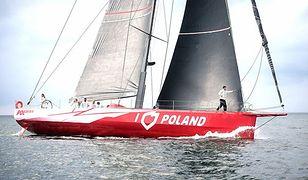 """Jacht """"I love Poland"""" wraca do Europy. Nie weźmie udziału w elitarnych regatach"""
