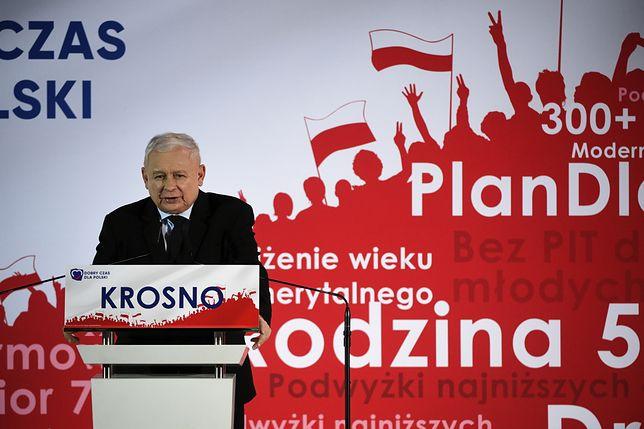 W niedzielę lider PiS odwiedził Krosno