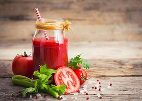 Sok pomidorowo-warzywny o niskiej zawartości sodu