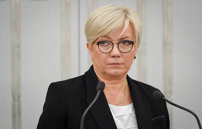"""Prezes Trybunału Konstytucyjnego Julia Przyłębska skrytykowana przez tygodnik """"Niedziela"""""""