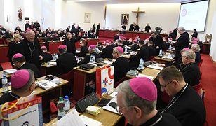 Biskupi podczas obrad w ramach 378. Zebrania Plenarnego Konferencji Episkopatu Polski. Marzec 2018 roku.