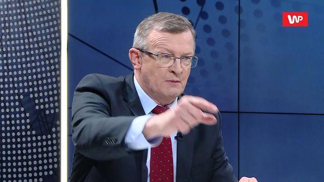Burza po słowach o klapsach w wywiadzie Tadeusza Cymańskiego dla WP