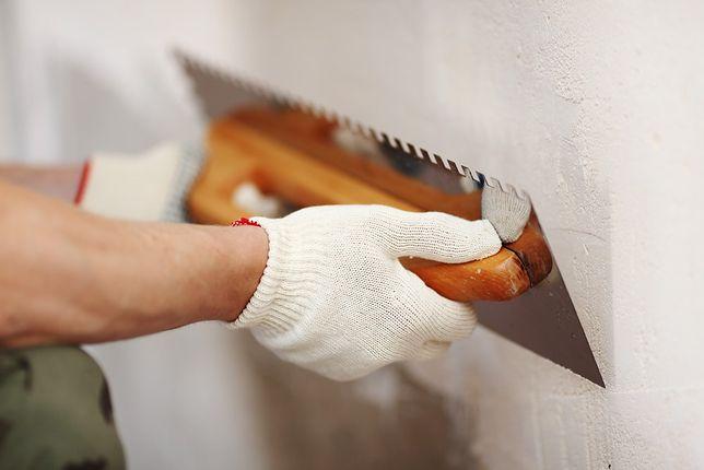Wystarczy odrobina wprawy, a ściany będą idealnie gładkie
