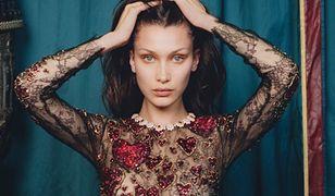 """Bella Hadid w sukniach haute couture dla """"W Magazine"""""""