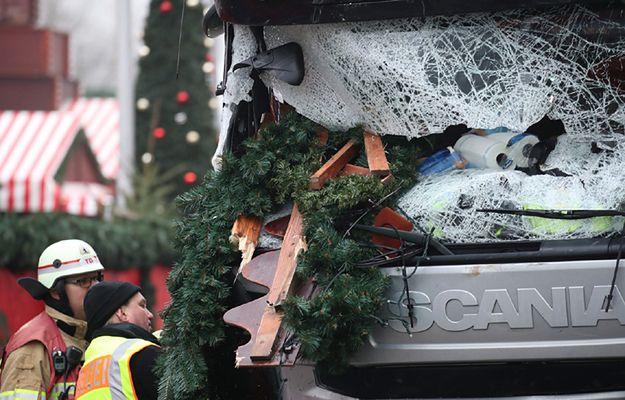 W zamachu w Berlinie zginęło 12 osób, w tym polski kierowca
