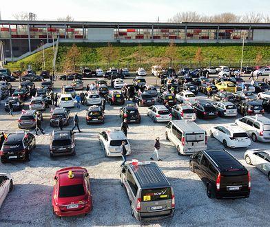 Protest taksówkarzy. Domagają się państwowego wsparcia
