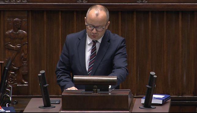 Adam Bodnar przemawia w Sejmie