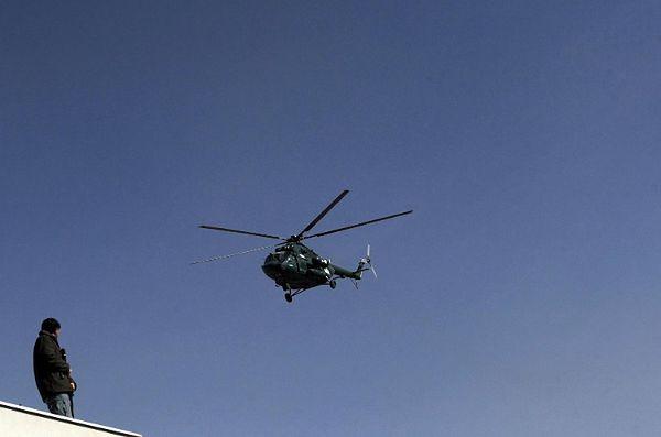 Rozbił się helikopter z pomocą humanitarną dla irackich jazydów