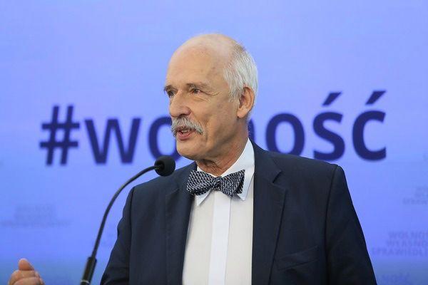 Janusz Korwin-Mikke dla WP: zwycięstwo Trumpa oznacza, że nie będzie III wojny światowej