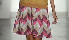 Spódnica o fasonie A - trend na lato 2013