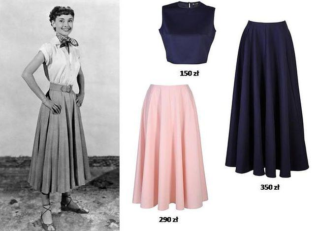 Moda w stylu lat 50. Wyglądaj jak Audrey Hepburn, Brigitte Bardot, czy Marylin Monroe