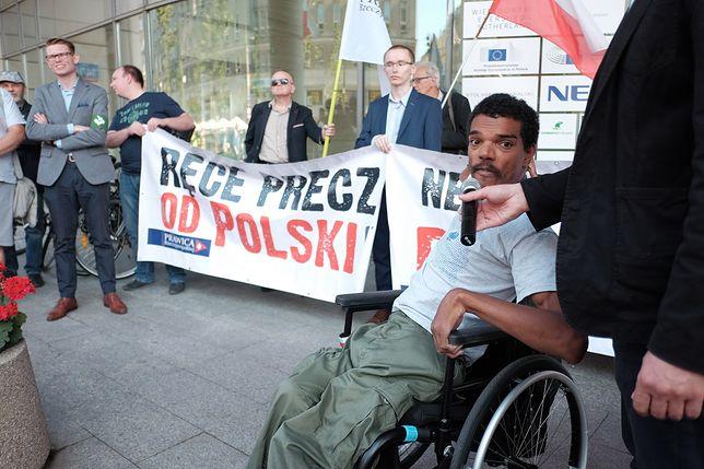 Bawer Aondo-Akaa, polityk Prawicy RP i działacz pro life, domaga się przeprosin od europosła Guya Verhofstadta