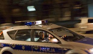 Policjanci odgrodzili drogę ucieczki mężczyźnie