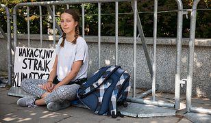 16-letnia szwedzka aktywistka wspiera wakacyjny strajk klimatyczny 13-letniej Ingi Zasowskiej