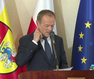 """Donald Tusk o """"wojnie gangów"""" w polskim rządzie. """"Ja się mało nie popłakałem"""""""