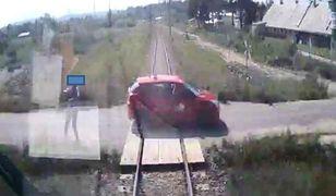 Wypadek w Szaflarach. Nagranie z kamery w pociągu, tuż przed tragicznym zderzeniem.