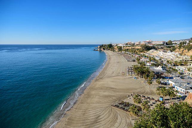 Plaża Burriana w Hiszpanii