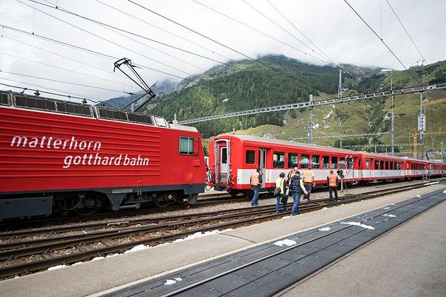 Zderzenie pociągów w Szwajcarii. Jest wielu rannych