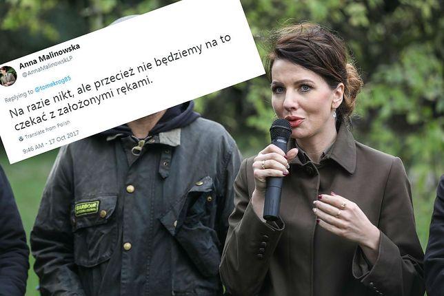 Rzecznik prasowa Lasów Państwowych Anna Malinowska.