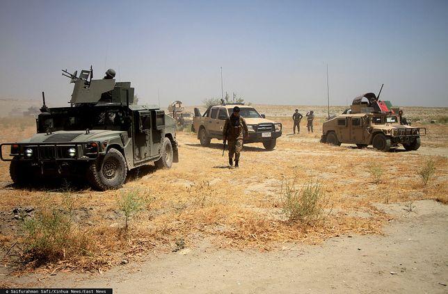 Afganistan. Siły bezpieczeństwa w prowincji Nangarhar, lipiec 2019 r.