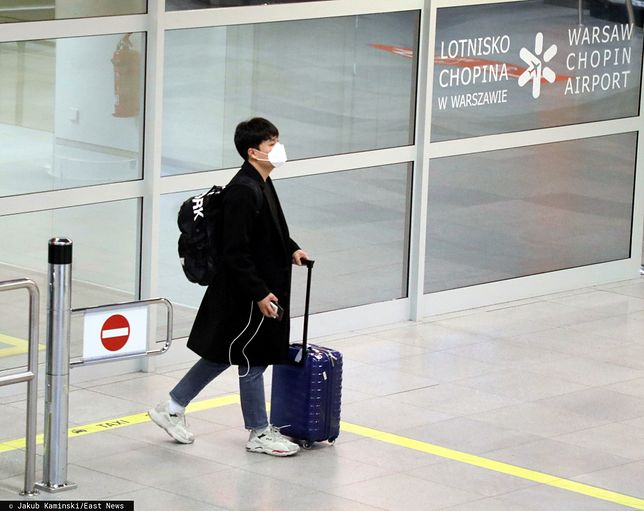 Koronawirus z Chin. Dotychczas nie stwierdzono przypadku zakażenia w Polsce