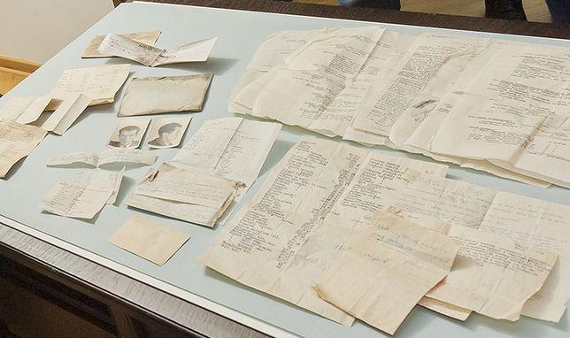 """Archiwum legendarnego Batalionu """"Parasol"""" znalezione w mieszkaniu przy ul. Niemcewicza"""