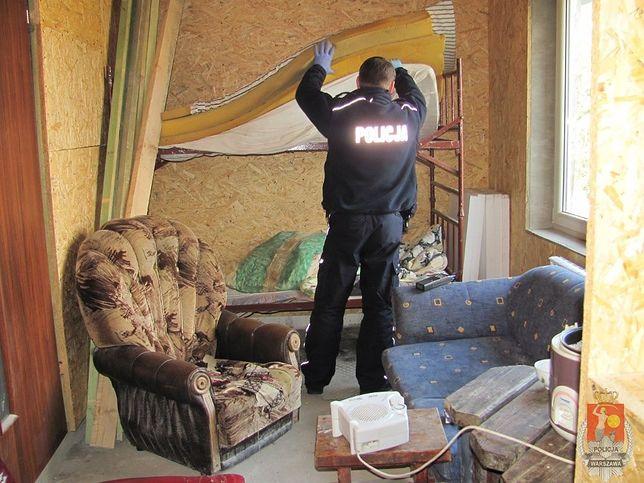 Handel ludźmi pod Warszawą. Uratowano sześć osób
