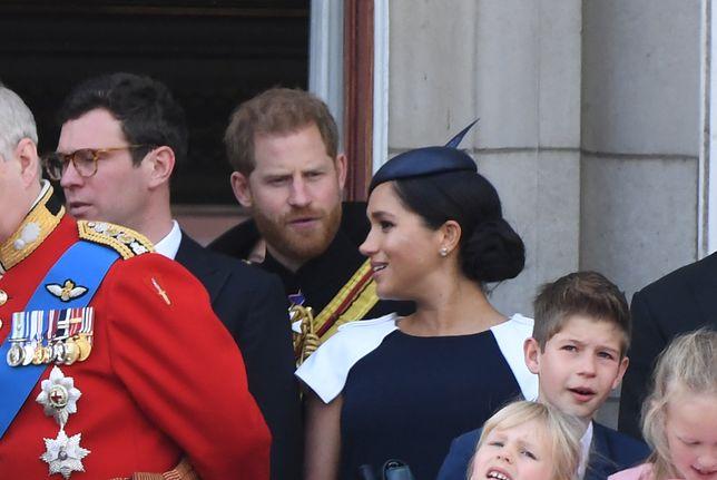 Meghan Markle i książę Harry wzbudzili emocje wśród sympatyków rodziny królewskiej