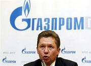 Rubel wspierał Gazprom