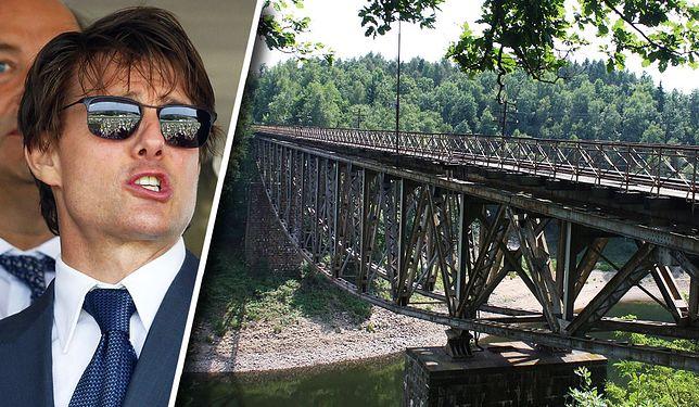 Czy Tom Cruise wysadzi zabytkowy most w Polsce?