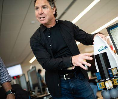 Greg Wyler, założyciel firmy OneWeb.