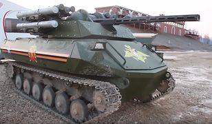 Uran-9 rosyjski, półautonomiczny pojazd bojowy użyty m.in. w Syrii