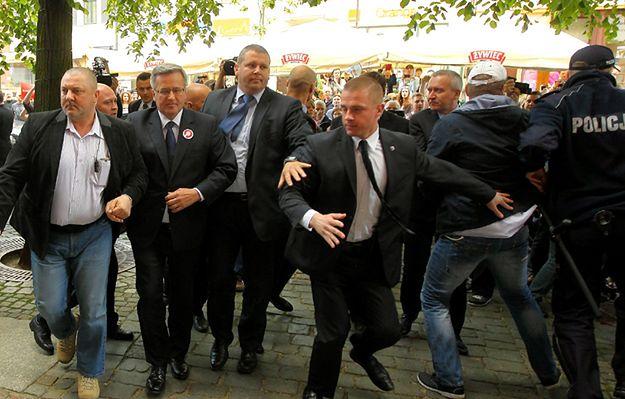 Ruszył proces ws. usiłowania napaści na prezydenta B. Komorowskiego