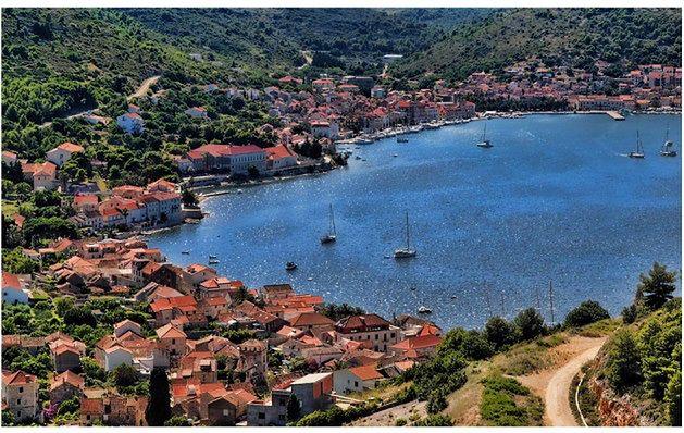 Najbardziej wysunięta w morze chorwacka wyspa
