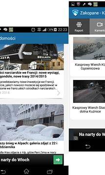 """Aplikacja """"Skiinfo Narty & Śnieg"""""""