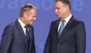 Najlepiej w sondażu wypadają Andrzej Duda i Donald Tusk