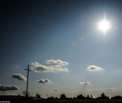 Bielsko-Biała. Widok ze wzgórza Trzy Lipki.