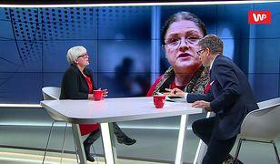 Joanna Kluzik-Rostkowska o Krystynie Pawłowicz: nie przeczę, że sam dorobek prawniczy jest okej, ale...