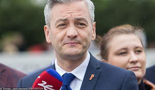 Robert Biedroń nie wie jeszcze, z kim Wiosna pójdzie do wyborów