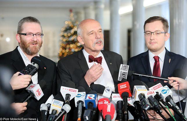 """Grzegorz Braun, Janusz Korwin-Mikke i Robert Winnicki chcą """"pozbyć się"""" Unii Europejskiej"""
