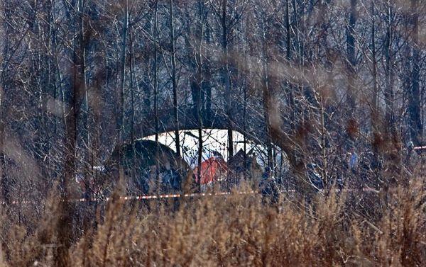 Miejsce katastrofy Tu-154M