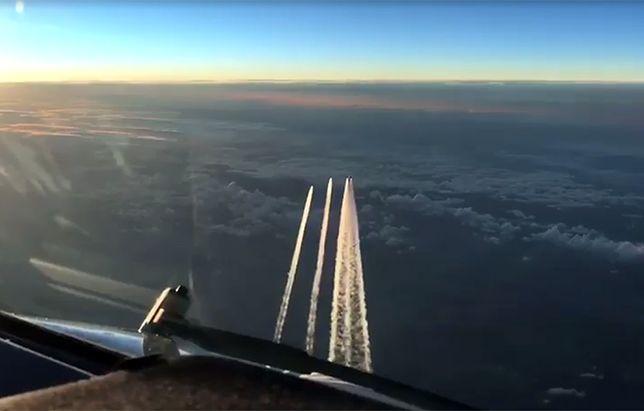Niemcy poderwali myśliwce. Incydent z Boeingiem 777 nad Kolonią