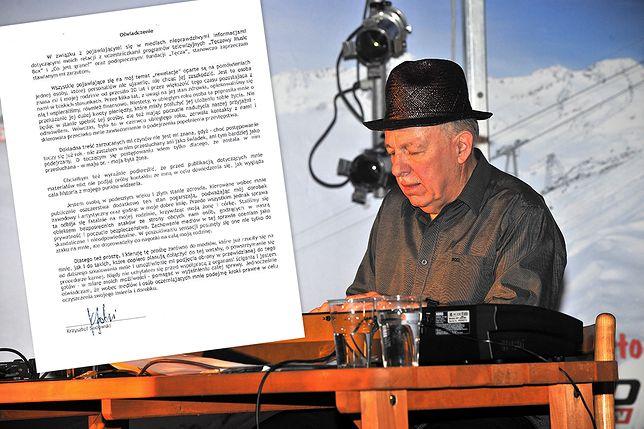 Zarzuty wobec Krzysztofa Sadowskiego dotyczą m.in. molestowania