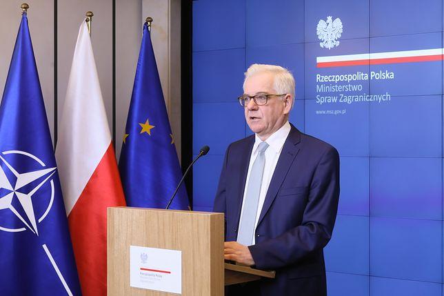 Jacek Czaputowicz: czterech rosyjskich dyplomatów uznanych persona non grata
