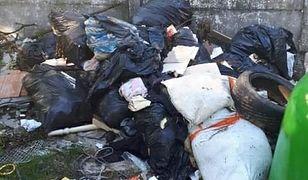 Piekary Śląskie. Zaśmiecony śmietnik – właściciel odpadów poszukiwany